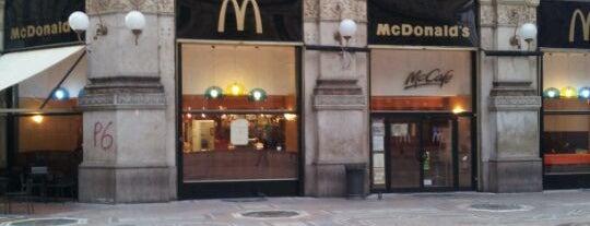 McDonald's is one of nuova vita.