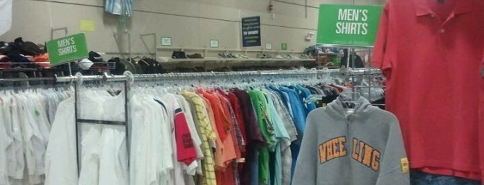 Goodwill is one of Thrift store.