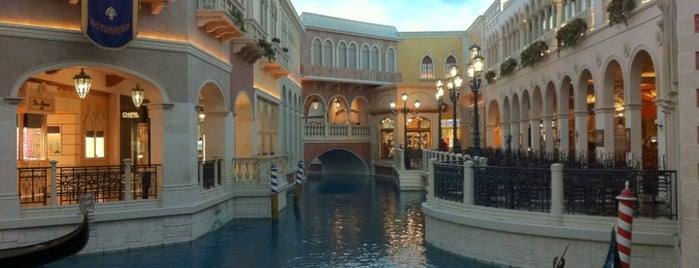 Venetian Resort & Casino is one of Big Country's Favorite Hotels.