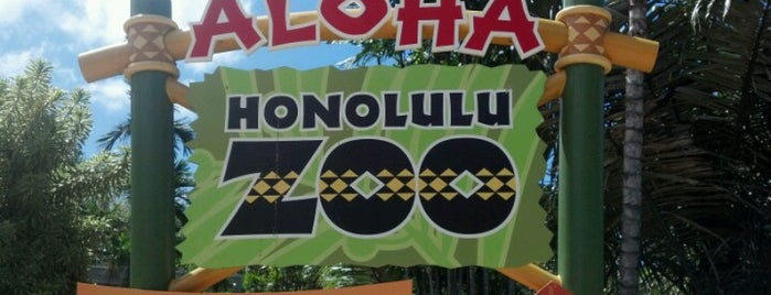 Honolulu Zoo is one of Orte, die Nathan gefallen.