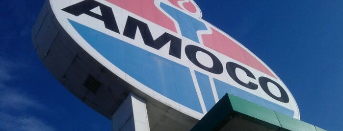 World's Largest Amoco Sign is one of Local venues to visit.