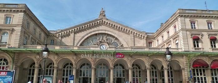 Gare SNCF de Paris Est is one of j'ai été.