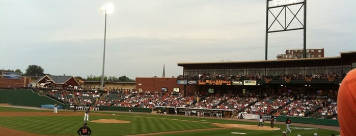 PeoplesBank Park is one of York College Student Hotspots.