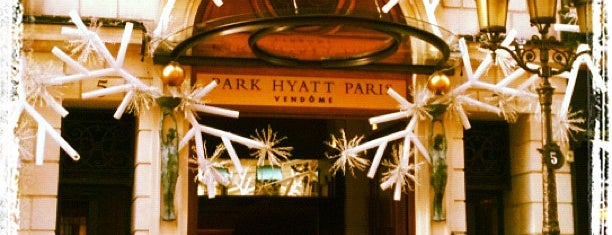 Park Hyatt Paris-Vendome is one of Untuck Thyself.