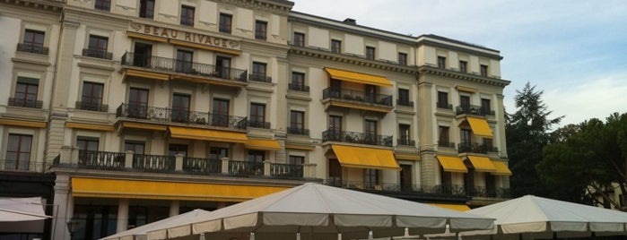 Café Beau-Rivage is one of Geneva & Lake Leman.