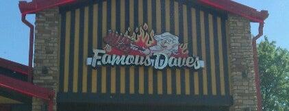 Famous Dave's is one of Posti che sono piaciuti a Ann Maria.