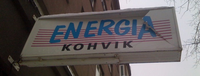 Kohvik Energia is one of Tallin.