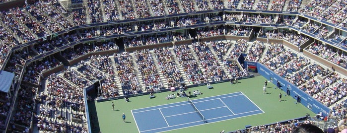 Arthur Ashe Stadium is one of U.S. - Stadium :: List.