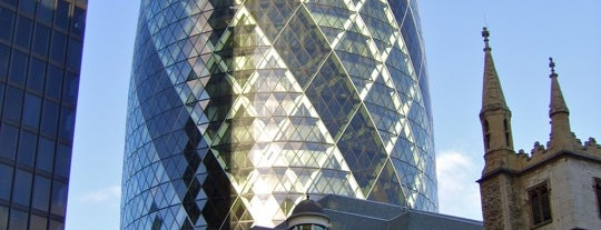 30 St Mary Axe is one of Londres / London.