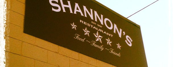 Shannon's Five Star is one of The Townie List.