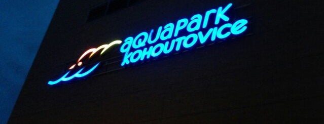Aquapark Kohoutovice is one of The Best of Brno #4sqCities.