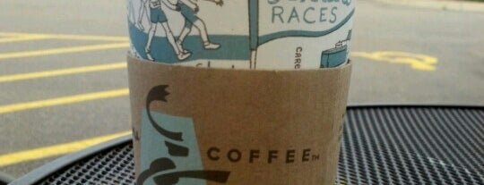 Caribou Coffee is one of Favorites.