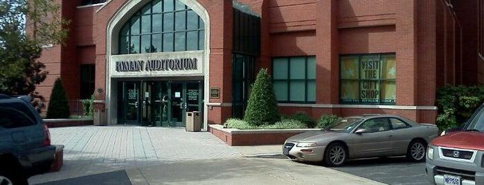 Ryman Auditorium is one of Nashville Venues.