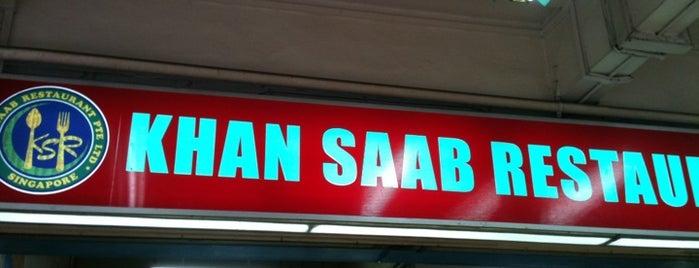 Khan Saab Restaurant is one of Tempat yang Disukai cui.
