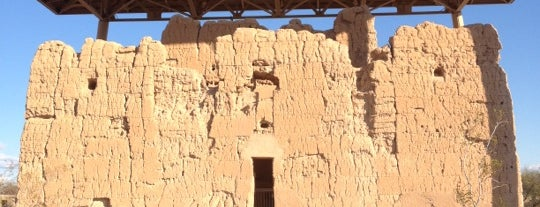 Casa Grande Ruins National Monument is one of Native American Cultures, Lands, & History.