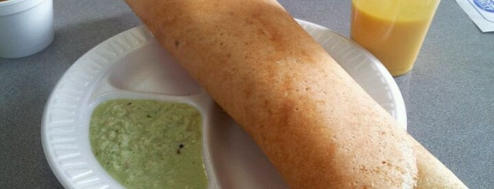 Dosa Hutt is one of Indian NYC.