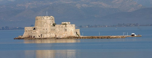 Port of Nafplio is one of Grécia.
