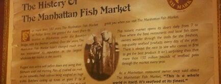 The Manhattan Fish Market is one of Mar'ın Beğendiği Mekanlar.