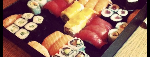 SushiShop is one of Favorite Food.