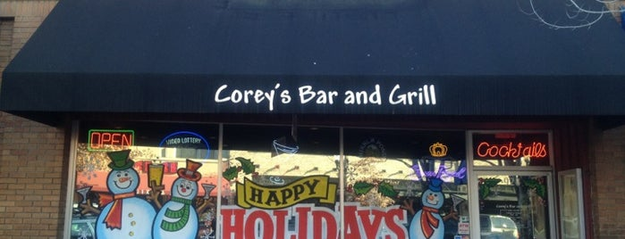 Corey's Bar & Grill is one of Devonさんのお気に入りスポット.