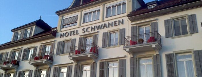 Hotel Schwanen is one of Steakhouse.