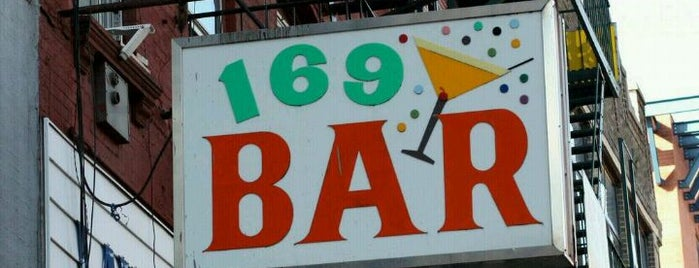 169 Bar is one of New York.