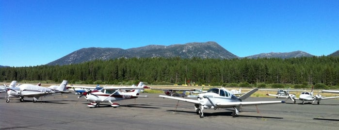 Lake Tahoe Airport (TVL) is one of AIRPORT.