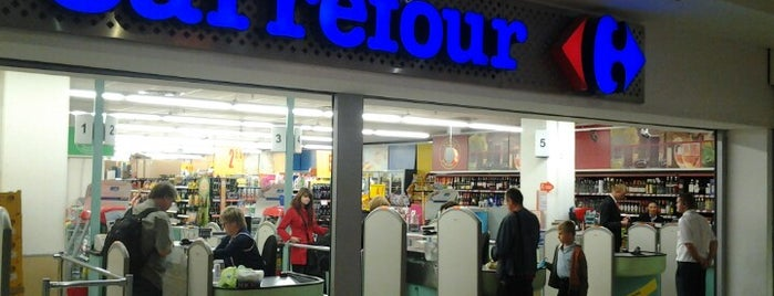 Carrefour is one of Krakiw.