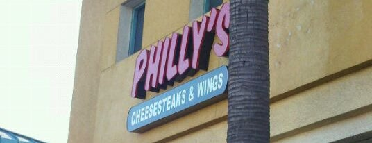 Philly's Cheesesteak & Wings is one of Kevin 님이 저장한 장소.