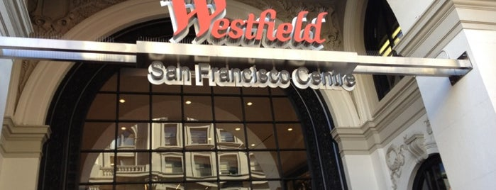 Westfield San Francisco Centre is one of favs around Bay Area.