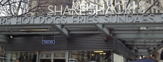 Shake Shack is one of Quick 'n'easy.