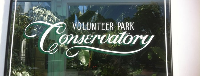 Volunteer Park Conservatory is one of Seattle.