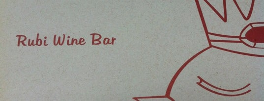 Rubi Wine Bar is one of Comer E Beber Em Sampa.