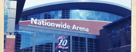 Nationwide Arena is one of Games Venues.