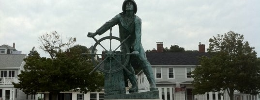 Gloucester Fisherman's Memorial is one of Hunting chowder on the Seafood Trail.