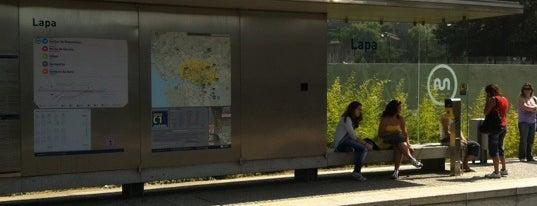 Metro Lapa [A,B,C,E,F] is one of Portugal Road trip.