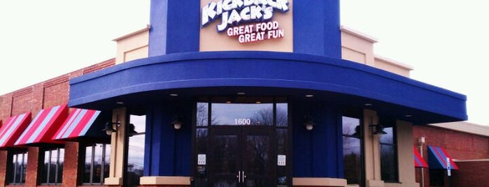 Kick Back Jack's is one of Must-visit Food and Drink Shops in Des Moines.
