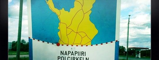 Napapiiri Polar Circle is one of สถานที่ที่ Håkan ถูกใจ.