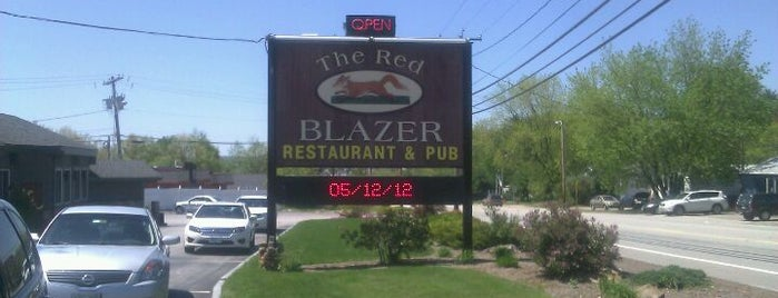 The Red Blazer Restaurant & Pub is one of Concord.