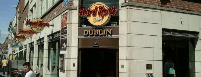 Hard Rock Cafe Dublin is one of Hard Rock Cafes I've Visited.