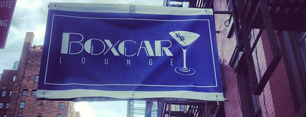 Boxcar Lounge is one of Andrew 님이 저장한 장소.