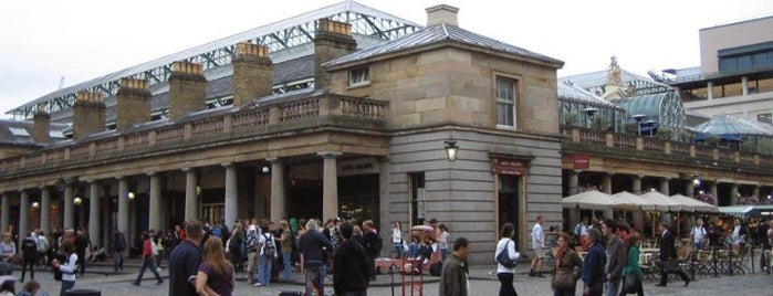 Covent Garden Market is one of London as a local.