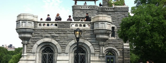 Belvedere Castle is one of Experience Central Park on The Mark Bikes.