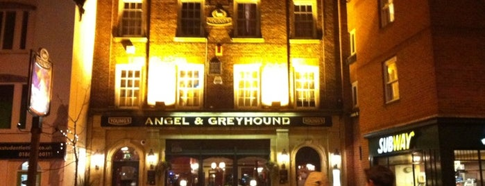 Angel & Greyhound is one of Oxford Highlights.