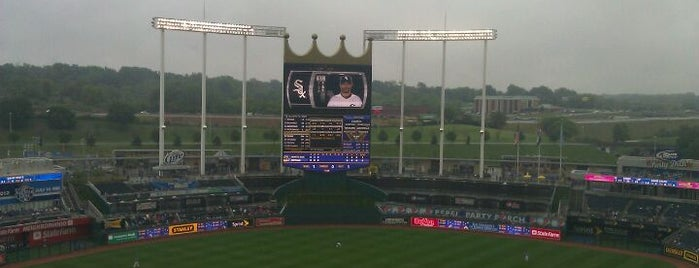 Kauffman Stadium is one of Baseball Stadiums.