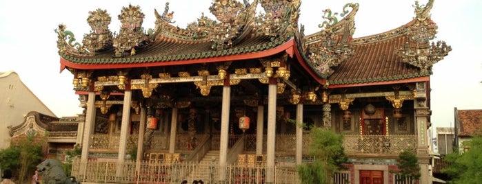 Leong San Tong Khoo Kongsi (龍山堂邱公司) is one of PENANG PLACES.