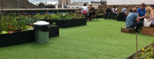 Dalston Roof Park is one of bars.