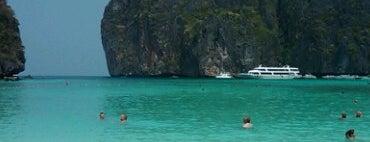 Maya Bay is one of Go to Lanta. Be Bamboocha..
