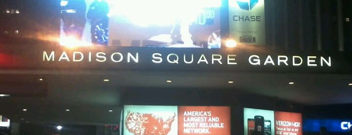 Madison Square Garden is one of NHL HOCKEY ARENAS.