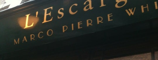 L'Escargot is one of London best restaurants for great dining.